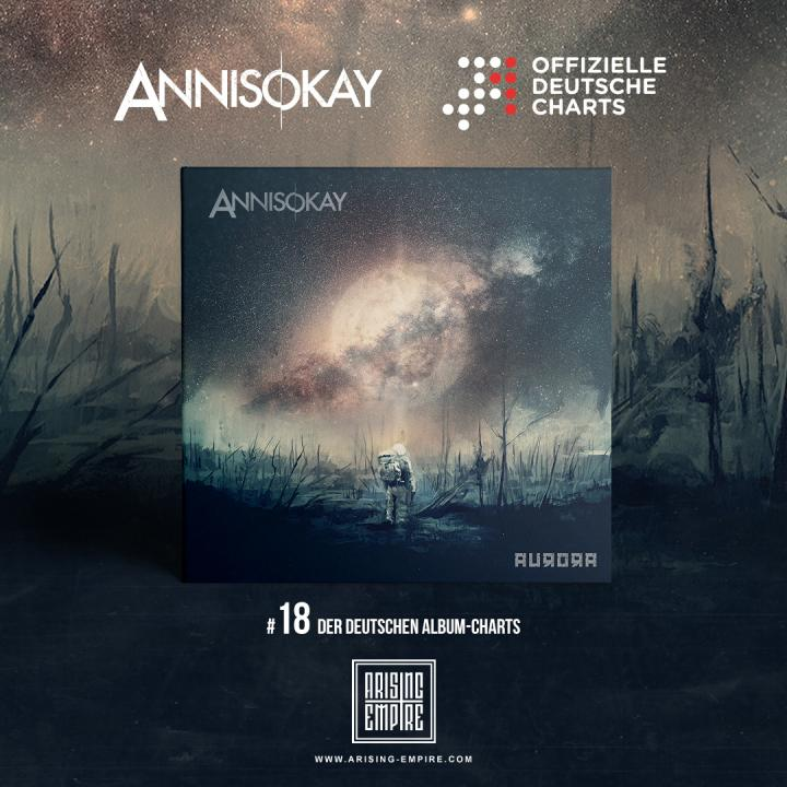 Annisokay enter German album charts