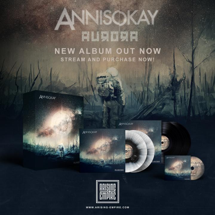 Annisokay release new Album Aurora and new single 'Under Your Tattoos'