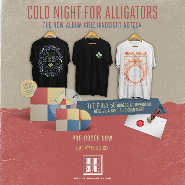 Cold Night For Alligators have announced their new album »The Hindsight Notes« and released new single 'Verism'