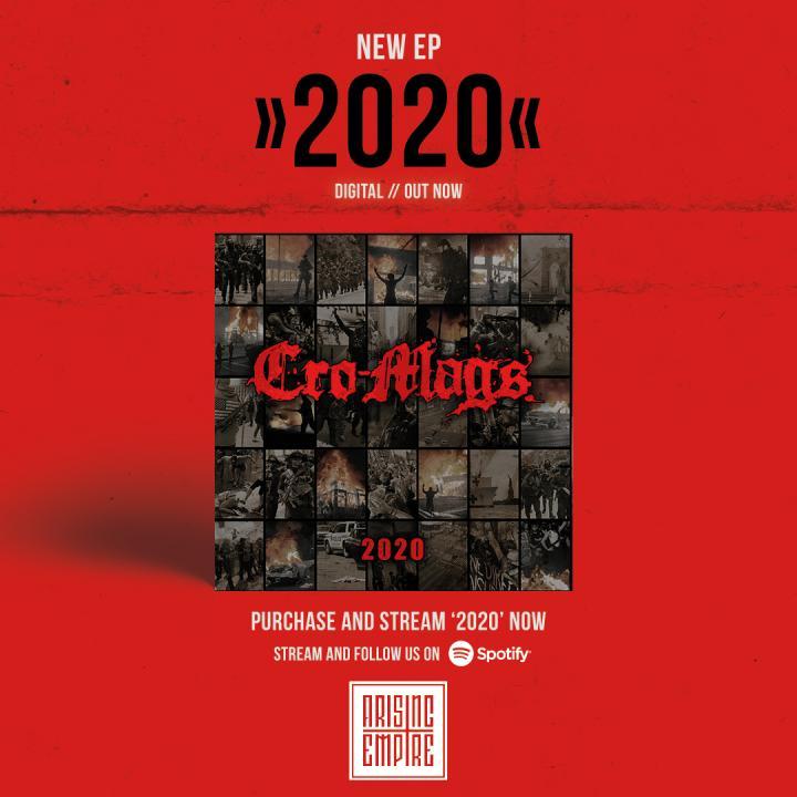 Cro-Mags release new EP 2020 worldwide digitally