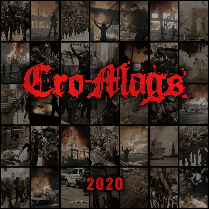 Cro-Mags start digital pre-orders for  »2020« and release titletrack