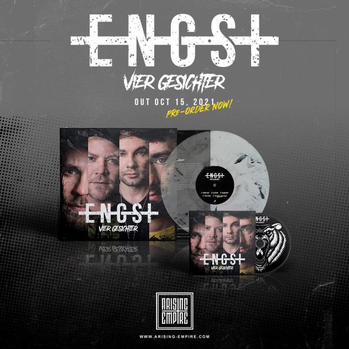 Engst announce new EP »Vier Gesichter« and release new single 'Dunkelheit'