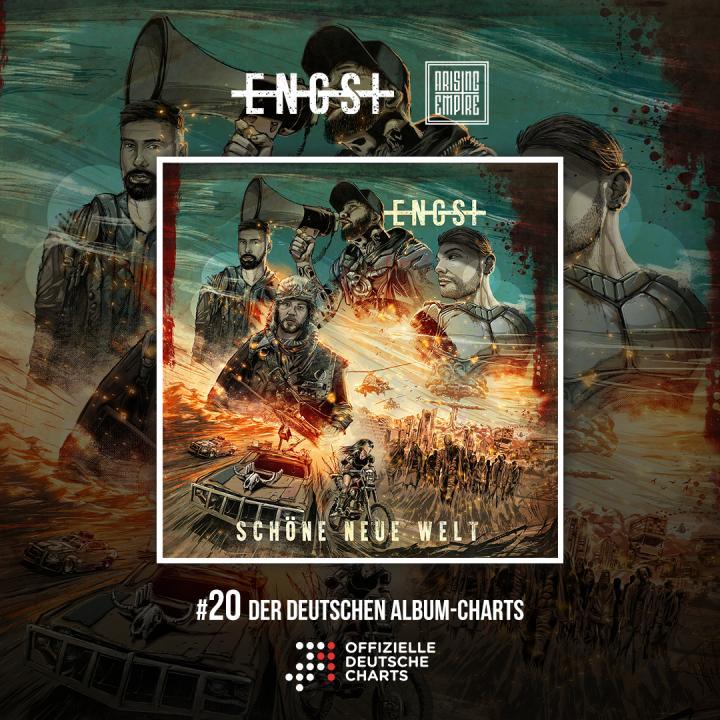 Engst entered official German album charts