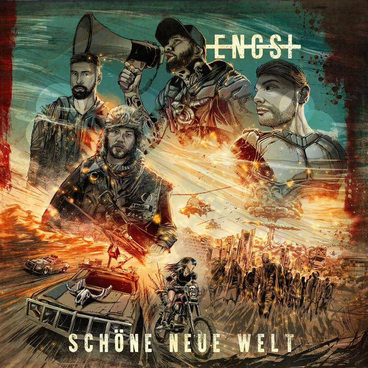 Engst release new single 'Alle tragen Schwarz' from the upcoming album