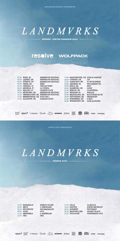 Landmvrks announce EU/UK & France tour