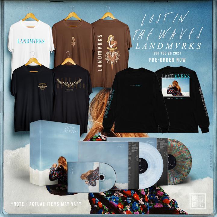 LANDMVRKS release brand new single 'Lost In A Wave'