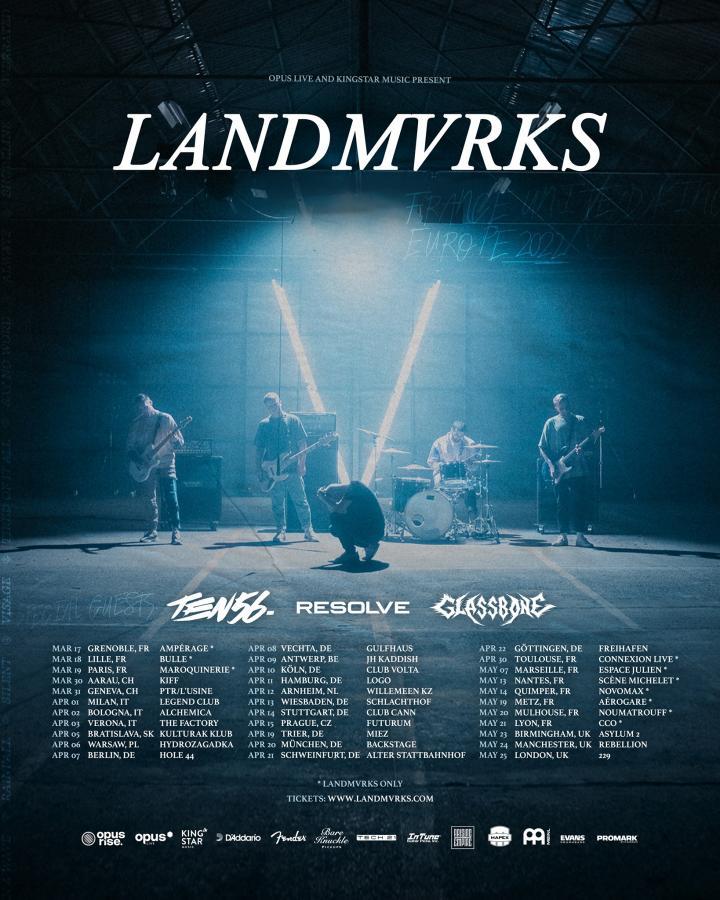 Landmvrks reschedule tour