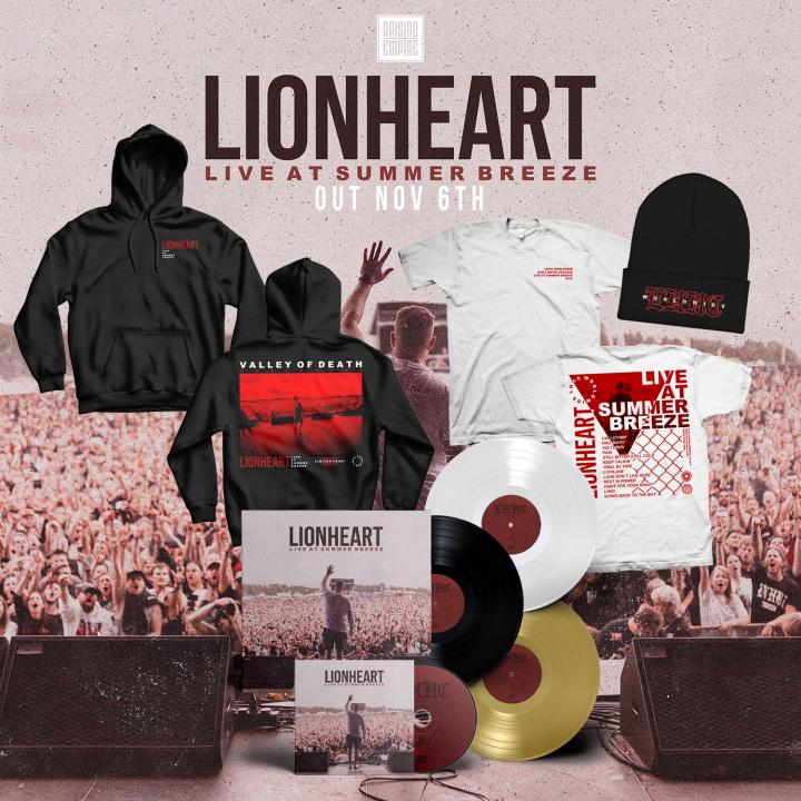 Lionheart start pre-orders for »Live At Summer Breeze« & live performance from Summer Breeze 2019