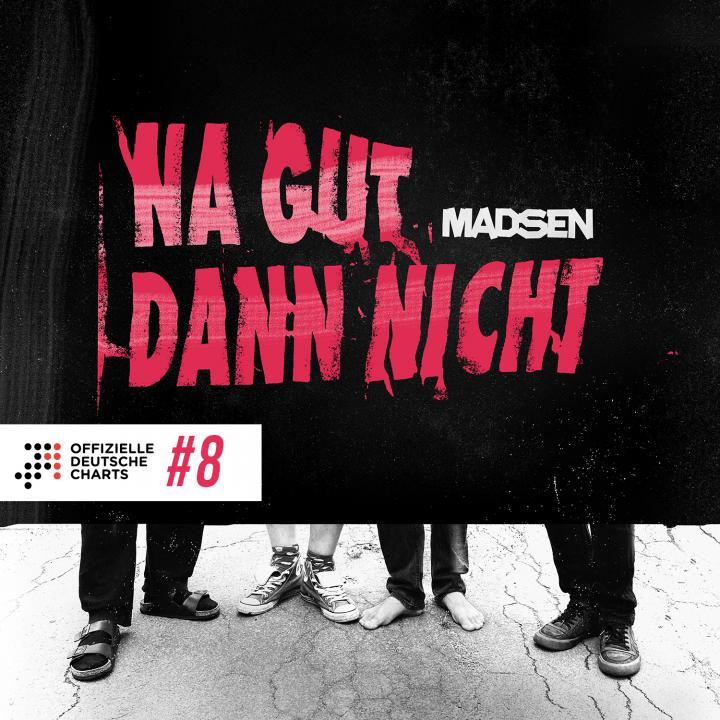 Madsen enters official German album charts