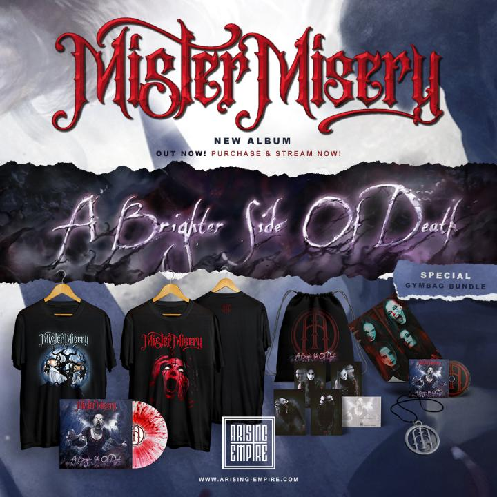 Mister Misery new album »A Brighter Side Of Death« out now