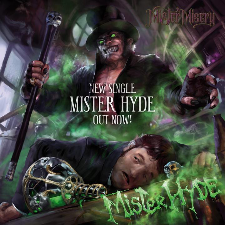 Mister Misery release new single 'Mister Hyde'