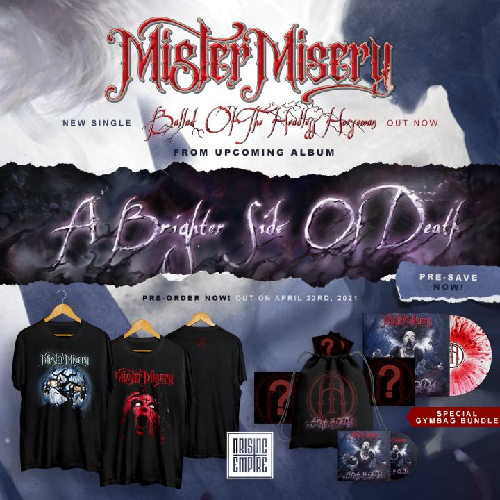 Mister Misery start pre-orders for new album and release new single