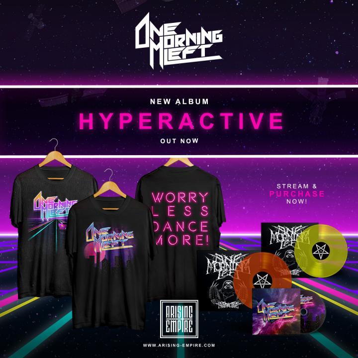 One Morning Left released new album »Hyperactive«