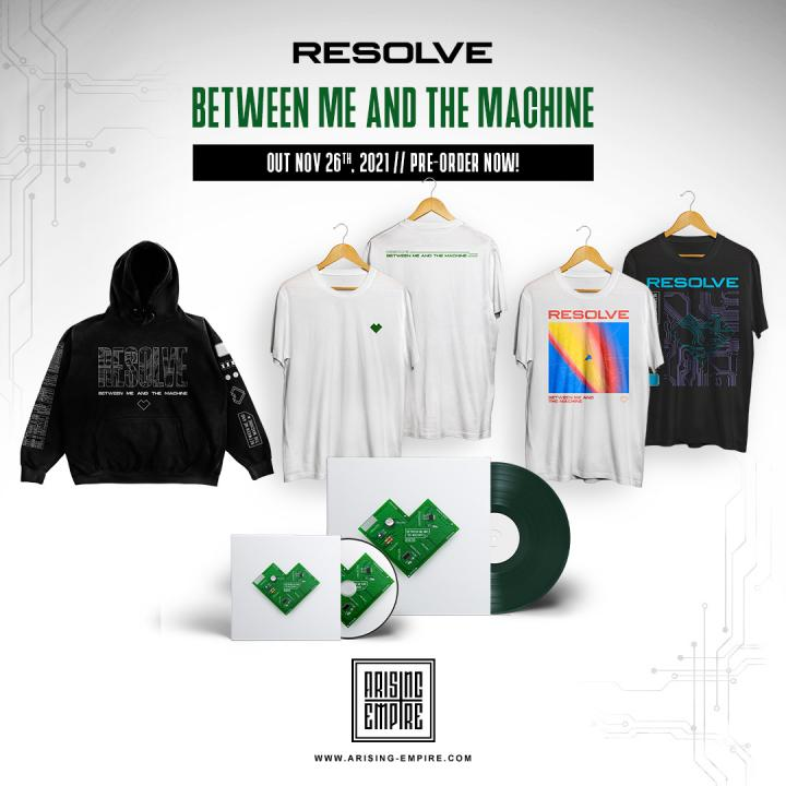 Resolve announce debut album »Between Me and The Machine« and released new single 'Emerald Skies'