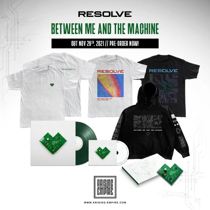 Resolve release new single 'Surrender' from upcoming debut album »Between Me and The Machine«