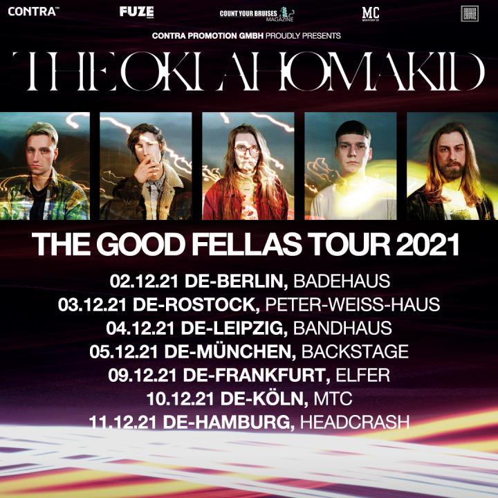 The Oklahoma Kid postpone tour to December 2021