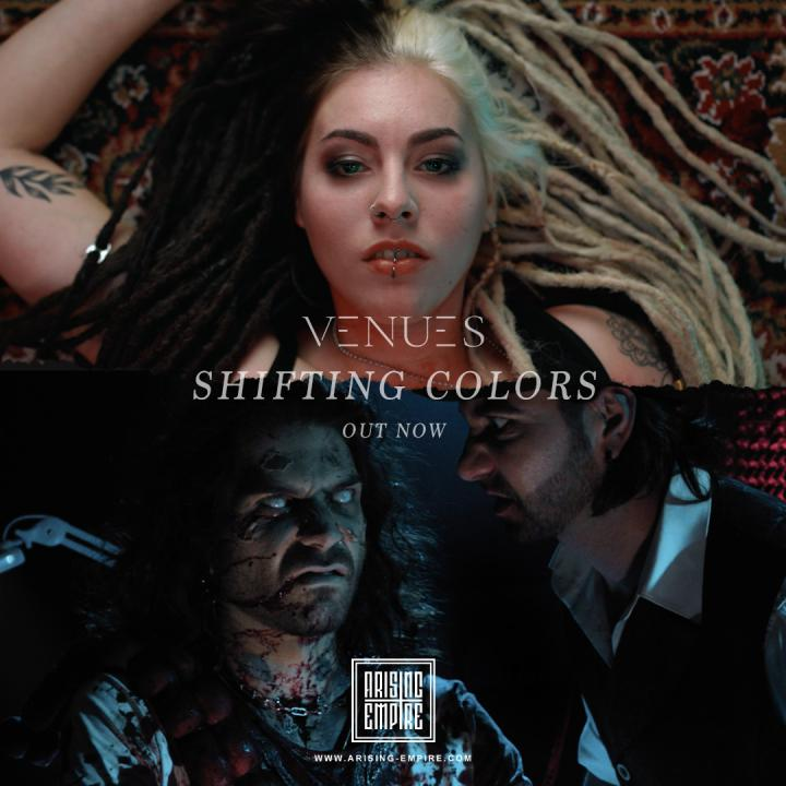 Venues release new single 'Shifting Colors'